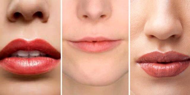 labbra sottilissime